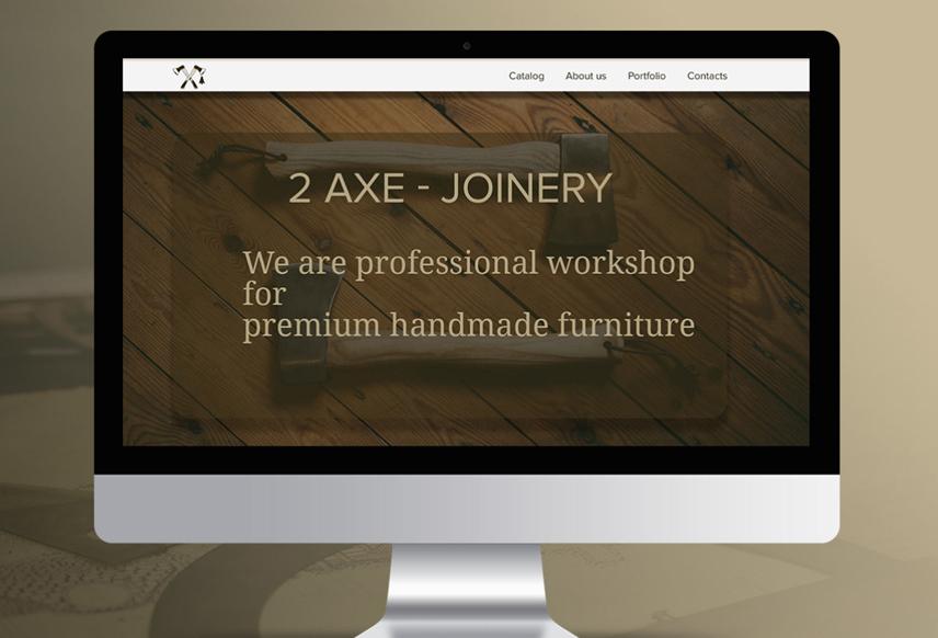 Дизайн сайта 2 AXE
