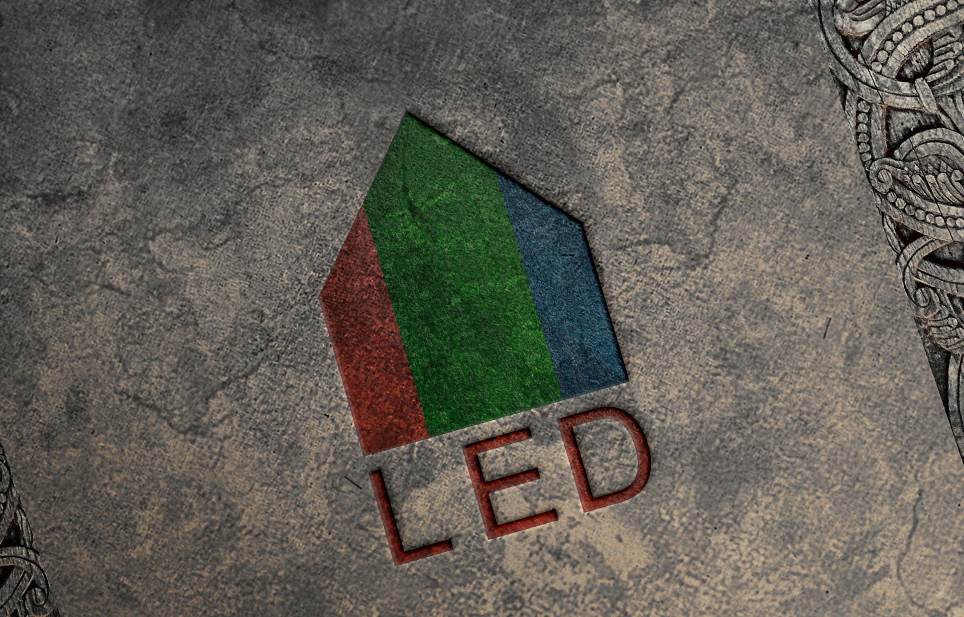 Брендинг сети LED